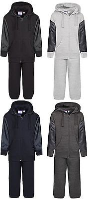 Boys Girls Tracksuit Hooded Top  Shell Jogging Bottoms Kids Jogging Suits