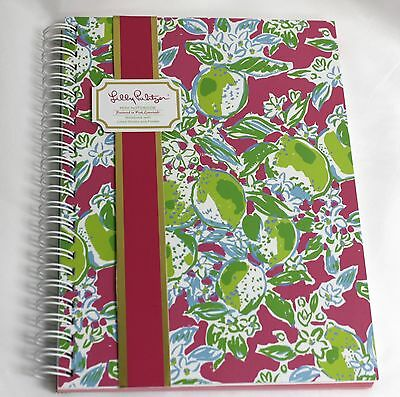 Lilly Pulitzer Mini Notebook Pink Green Stationery Pink Lemonade Lined New