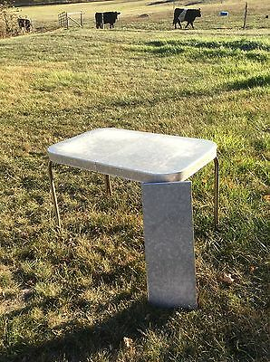 Vintage Formica And Chrome Table