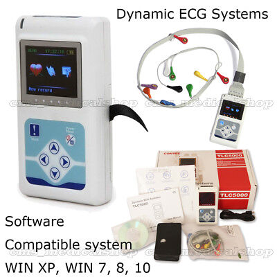 CE FDA ,New,Hot,ECG,TLC5000 12 Channel Holter Dynamic ECG Monitoring System