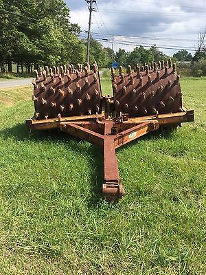 5' Double Barrel Tandem Sheepsfoot Pull Behind Compactor