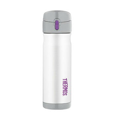 Thermos Stainless Steel Vacuum Insulated Commuter Bottle 470ml White