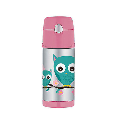 Thermos Funtainer Vacuum Drink Bottle 355ml Owl
