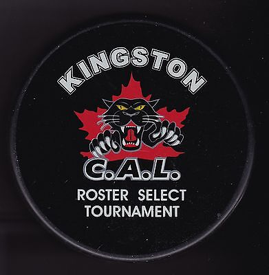 Kingston C.A.L. Roster Select Tournament Hockey Puck -