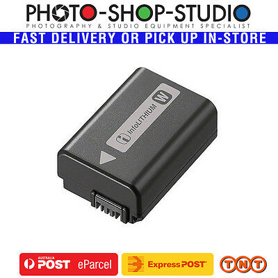 Sony NP-FW50 Li-on Rechargeable Battery (W Series) Genuine Local Stock A7 A7RII