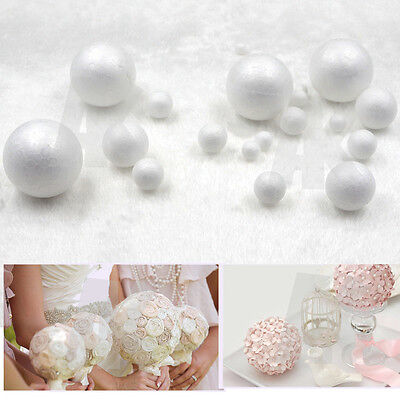 Polystyrene Styrofoam Foam Ball XMAS DIY Handmade Decorations Christmas