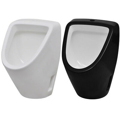 Wall Hung Bathroom WC Toilet Ceramic Urinal Bowl Exposed System Black/White