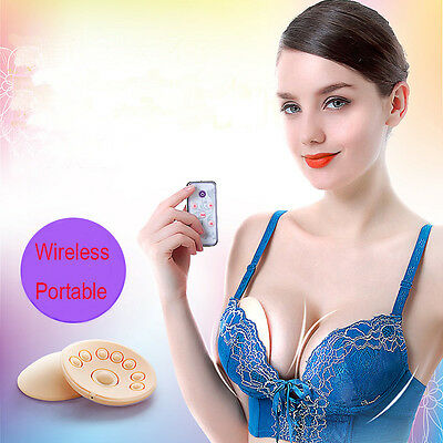 Wireless Electric Breast Care Beauty Massager Enhancing Treatment Home SPA New