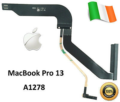 "New Genuine 821-1480-A Apple MacBook Pro 13"" A1278 2012 Hard Drive HDD Cable Fle"