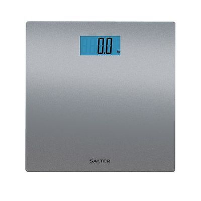 Salter 9051 Digital Bathroom Scales Electronic Scales with Silver Glitter Finish