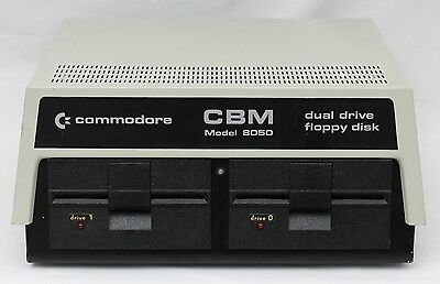 Commodore CBM PET 8050 Dual Disk Drive Unit DOS 2.7 *Serviced and Working*
