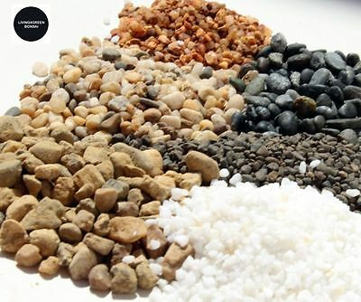 Stones / Pebbles Bonsai Aquarium 1Kg 1.5Kg 2Kg Large Range. Brand New!!