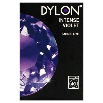 Dylon 200g Intense Violet Machine Fabric Dye - FREE P&P
