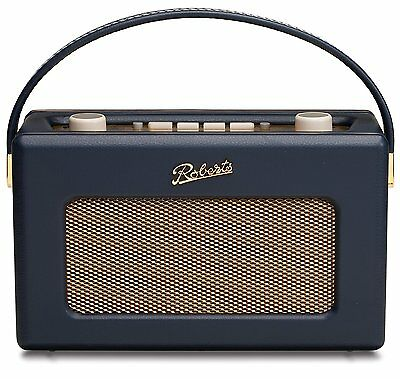 ROBERTS Revival RD60 Portable DAB Radio - Blue