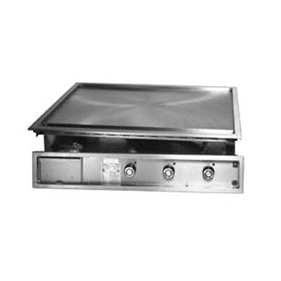 """Lang 136TDI 36"""" Electric Drop-In Griddle"""