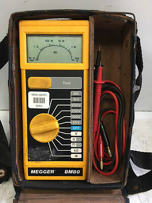 MEGGER BM80 Series Insulation and Continuity Tester (Yellow)