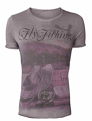 Hotspot Design Angler T-Shirt Fly Fishing - Collection Vintage