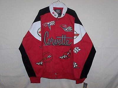 Brand New Red Chevrolet Corvette Racing Jacket 2XL XXL XX-Large coat