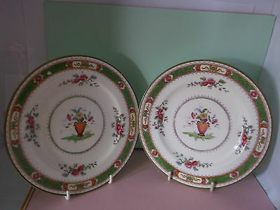 Stunning Enigmatic, 'Pair' of Coalport 'French-Noble' Side Plates 7177
