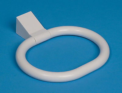 Pims Strong White Plastic Towel Ring