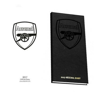 Official Arsenal FC 2017 Pocket Diary Slim Diary