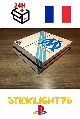 skin stickers om marseille  console ps4 led ligthbar