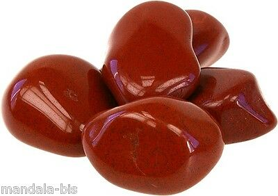 Stones Rolled JASPER RED Set of 3 - Lithotherapy