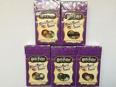 5 x American Harry Potter Bertie Botts Beans 34g by Jelly Belly