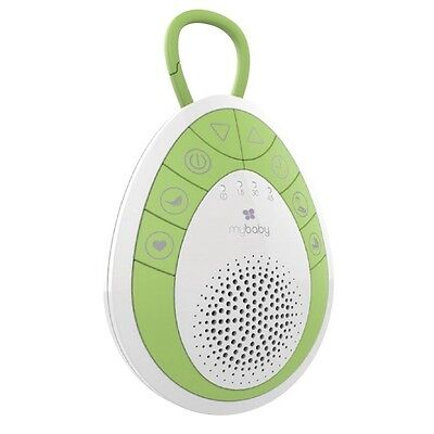 NEW Homedics Soundspa Onthego Baby Soother Green/White #`MYBS100