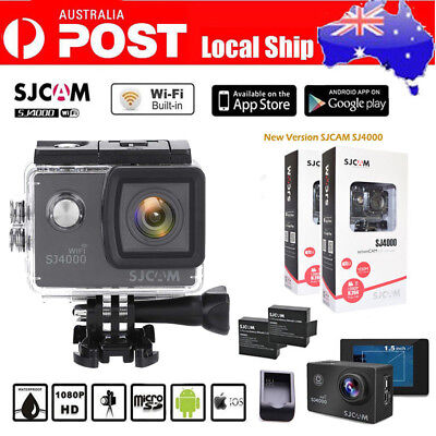 1080P HD 4K WIFI SJ8000 Sports Action DV Camera Waterproof Sony SENSOR+Remote