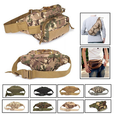 New Tactical Waist Pack BL059 Molle Utility Running Hiking Outdoor Phone Pouch