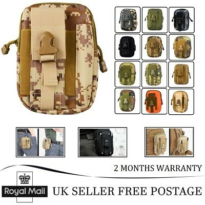 New Tactical Waist Pouch BL064 Camping Hiking Phone Wallet Fanny Pack Belt Bag