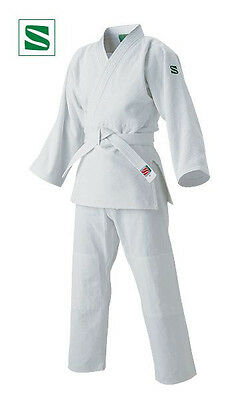 Kusakura Japan Judo gi wear YAMATONISHIKI Jacket Pants Obi set white JSY