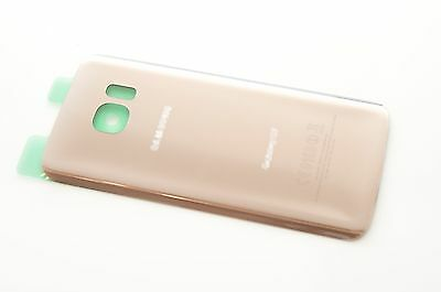 OEM Gold Back Glass Cover Battery Door Replacement For Samsung Galaxy S7 G930