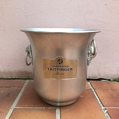 Vintage French Champagne French Ice Bucket Cooler France TAITTINGER perfect
