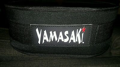 Yamasaki (Morgan) Endurance weight lifting belt gym back support - Large