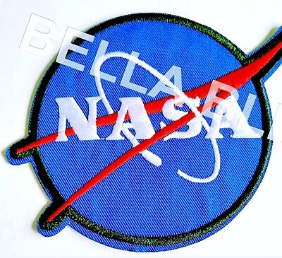 1 Boys Nasa Space Spaceman Iron On Sew On Patch Girls Clothes Craft