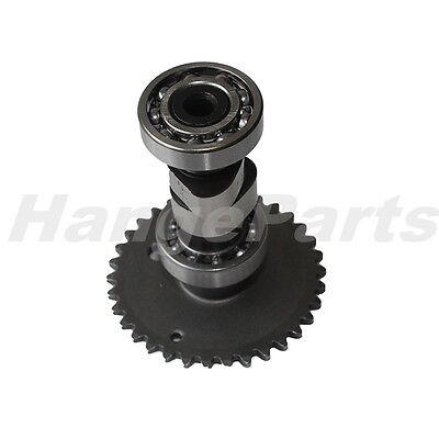 Camshaft Assembly Cam Shaft with Sprocket for GY6 150 Scooter Moped ATV Go Kart