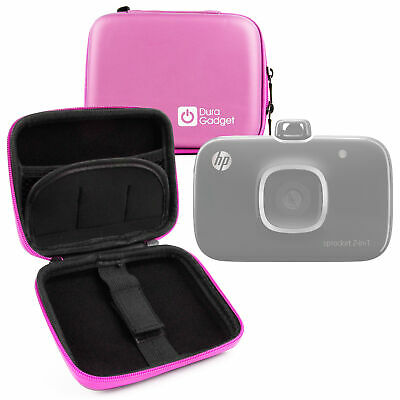 Hard Pink EVA Case For The HP Sprocket Pocket Photo Printer