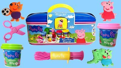 Peppa Pig's Picnic Dough Set Activity Toy - Age 3+ - NEW