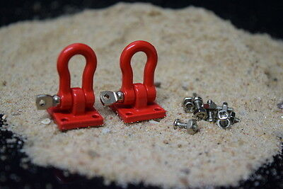 Absima Scale Crawler Heavy duty shackle with mounting bracket 1:10 2320046