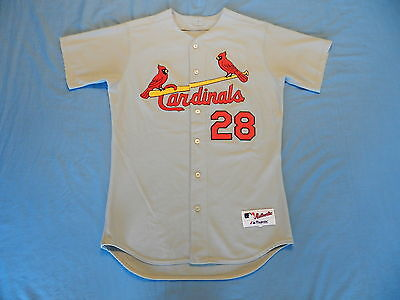 Colin Porter 2004 St. Louis Cardinals game used jersey