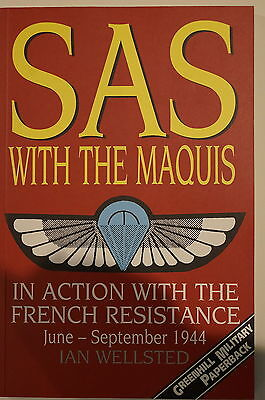 WW2 British SAS with Maquis in Action with French Resistance 1944 Reference Book