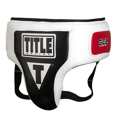 TITLE Boxing Gel Elite Groin & Ab Protector