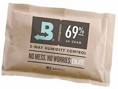 Boveda 69% RH 2-way Humidity Control, Large 60 gram, individually wrapped (60g)