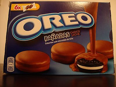1 Box OREO COOKIES covered with Milk Chocolat * 246 gr - 8.67 oz  The authentic