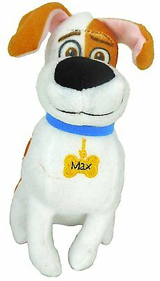 Secret Life of Pets Max Soft Toy 18cm  Official Branded