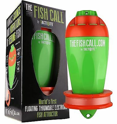TactiBite Fish Call Electronic Fish Attractor Catch Fish Shark Tank Floating New