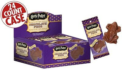 Harry Potter - CHOCOLATE FROGS - Jelly Belly Candy - .55 oz - 24 CT BOX