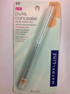 Maybelline Pure Concealer Blemish Treatment Stick. Medium.